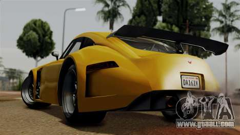 GTA 5 Bravado Verlierer for GTA San Andreas left view