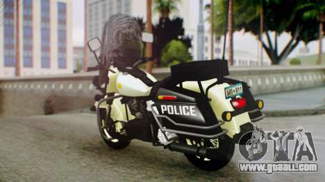 New Police Bike for GTA San Andreas left view