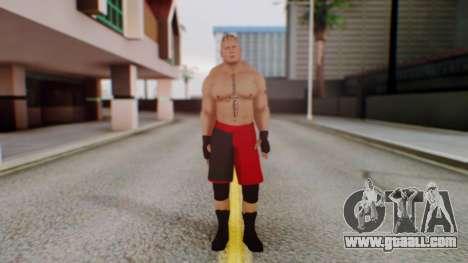 Brock Lesnar for GTA San Andreas second screenshot