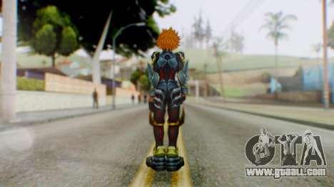 KHBBS - Ventus Armor (Helmetless) for GTA San Andreas third screenshot