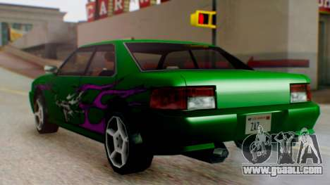 Sultan Винил из Need For Speed Underground 2 for GTA San Andreas back left view