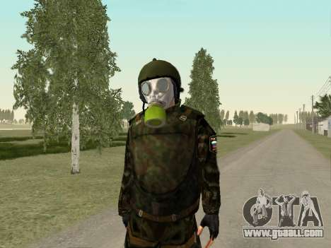 Russian soldiers in gas mask for GTA San Andreas forth screenshot