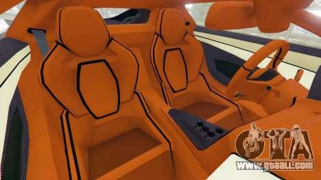 GTA 5 Jaguar C-X75 right side view