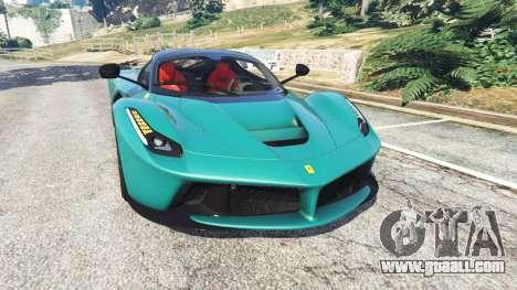 Ferrari LaFerrari 2015 v1.2 for GTA 5