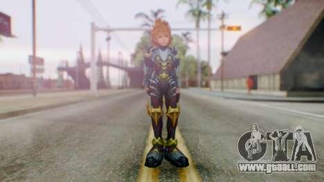 KHBBS - Ventus Armor (Helmetless) for GTA San Andreas second screenshot