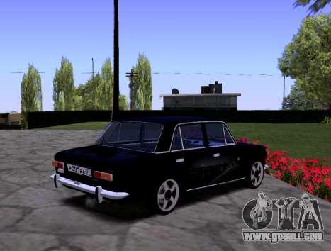 VAZ 2101 KBR for GTA San Andreas inner view