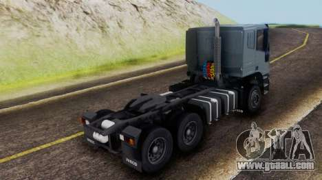 Iveco EuroTech v2.0 Cab Low for GTA San Andreas left view