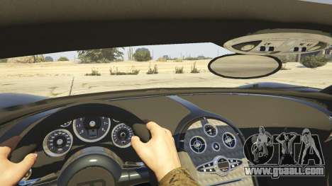 GTA 5 Bugatti Veyron v6.0 back view