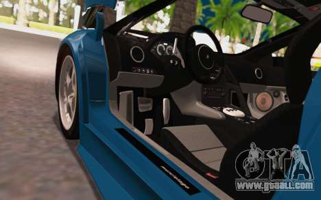 Lamborghini Murcielago 2005 for GTA San Andreas inner view