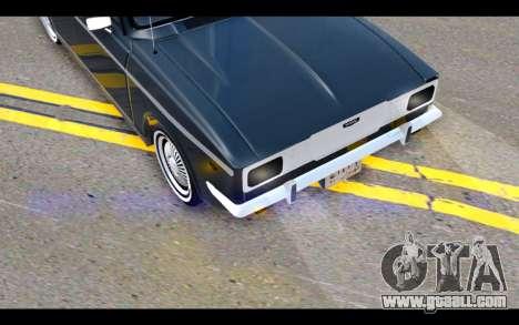 Peykan 1347 Classic for GTA San Andreas side view