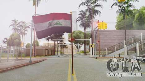 Iraq Flag HD for GTA San Andreas