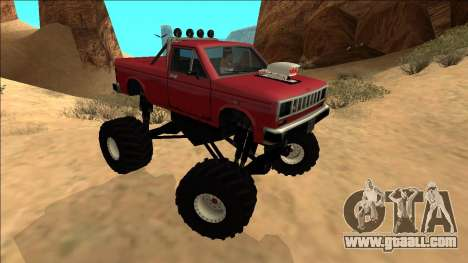 Bobcat Monster Truck for GTA San Andreas right view