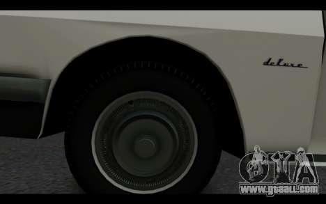 Wartburg 353 for GTA San Andreas right view