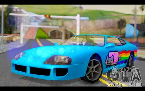 Jester PJ of Nyan Cat for GTA San Andreas