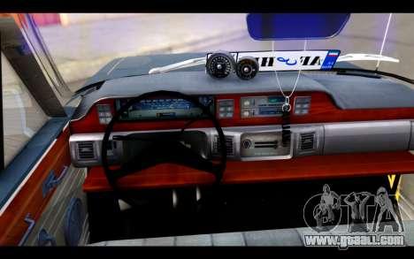 Peykan 1347 Classic for GTA San Andreas back left view