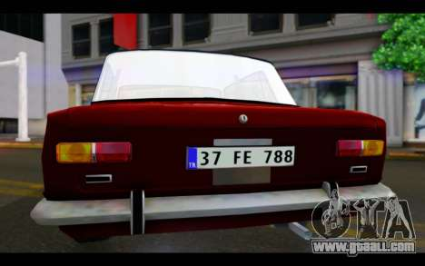 Fiat 124 for GTA San Andreas inner view