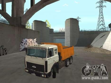 MAZ 551605-221-024 for GTA San Andreas