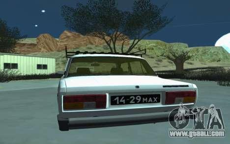 VAZ 2105 for GTA San Andreas for GTA San Andreas right view