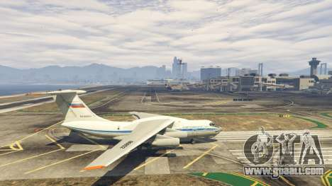 GTA 5 The IL-76 v1.1 second screenshot