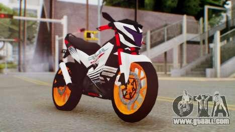 Honda Sonic 150R KingLivery for GTA San Andreas