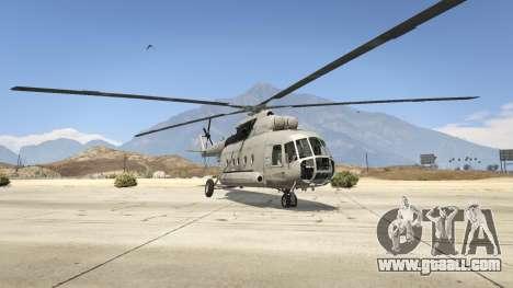 GTA 5 Mi-8