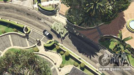 GTA 5 K2 Black Panther right side view