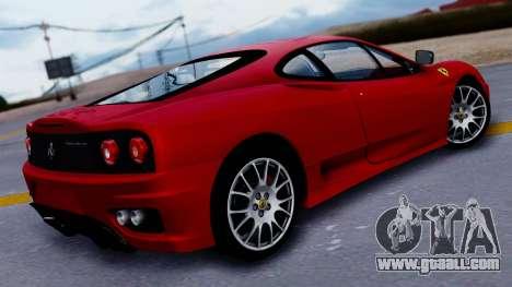 Ferrari 360 Challenge Stradale for GTA San Andreas left view