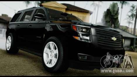 Chevrolet Tahoe 2015 for GTA San Andreas