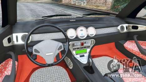GTA 5 Daewoo Joyster Concept 1997 v1.4 rear right side view