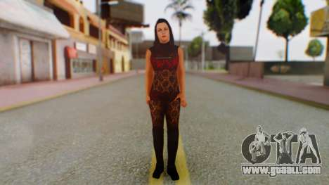 WWE Aksana for GTA San Andreas second screenshot