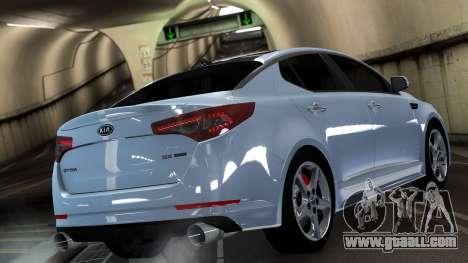 Kia Optima for GTA 4