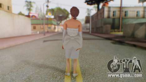 Miss Elizabeth for GTA San Andreas third screenshot