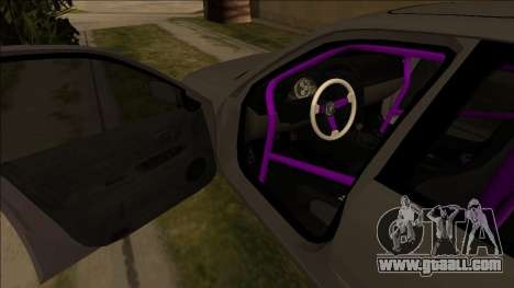 Lexus IS300 Drift for GTA San Andreas inner view