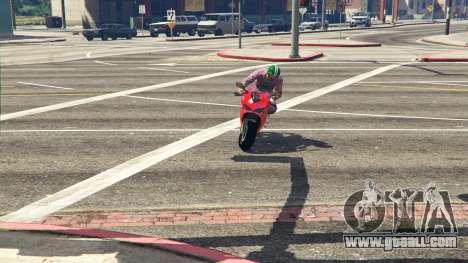 GTA 5 Ducati 1299 Panigale S v1.1 back view