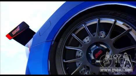 Subaru BRZ STi Concept 2016 for GTA San Andreas right view