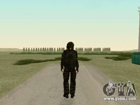 Russian soldiers in gas mask for GTA San Andreas third screenshot
