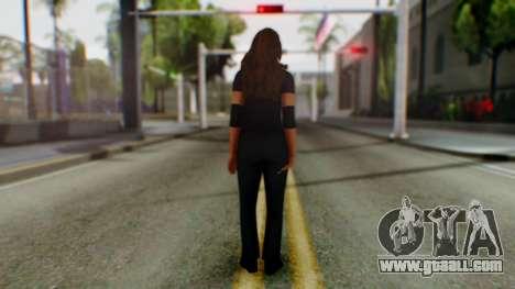 Stephani WWE for GTA San Andreas third screenshot