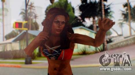 Micki James for GTA San Andreas
