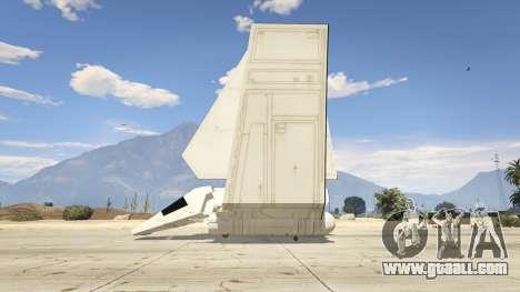 GTA 5 Star Wars: Imperial Shuttle Tydirium second screenshot
