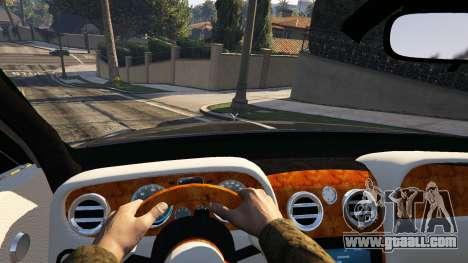 GTA 5 Rolls Royce Ghost 2014 rear right side view
