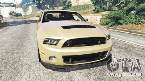 Ford Mustang Shelby GT500 2013 v2.0 for GTA 5