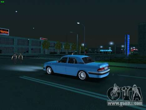 GAZ 3110 Volga for GTA San Andreas inner view