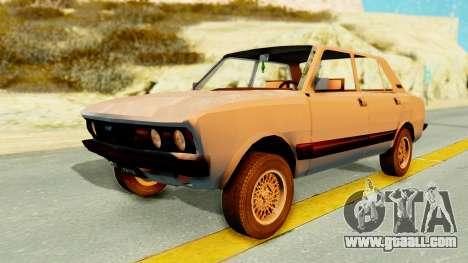 Fiat 132 for GTA San Andreas