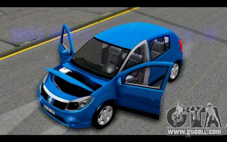 Renault Sandero for GTA San Andreas side view