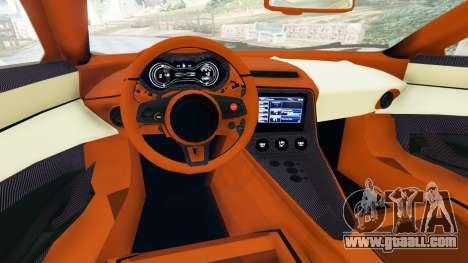 GTA 5 Jaguar C-X75 rear right side view