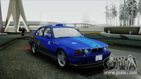 BMW M5 E34 US-spec 1994 (Full Tunable) for GTA San Andreas side view