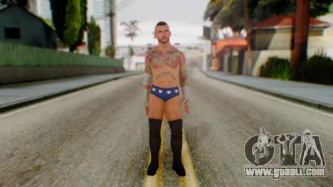 CM Punk 2 for GTA San Andreas second screenshot