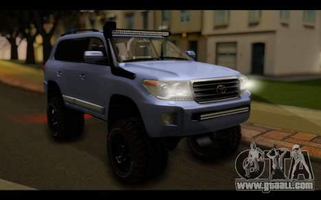 Toyota Land Cruiser 200 2013 Off Road for GTA San Andreas