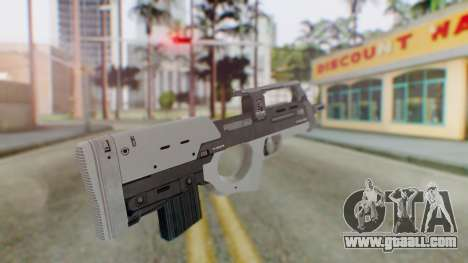 GTA 5 Assault SMG - Misterix 4 Weapons for GTA San Andreas second screenshot