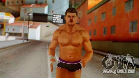 Cody Rhose for GTA San Andreas